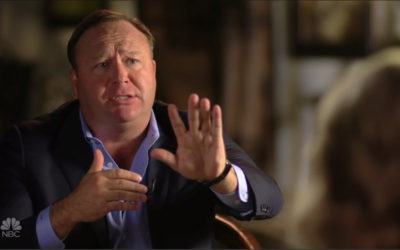 Alex Jones Grilled About Sandy Hook Comments in Contentious Interview With Megyn Kelly