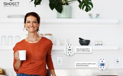 Swidget is a modular smart home system hidden in your outlets