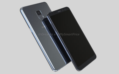 Galaxy A5 and A7 (2018) renders reveal bezel-less design and dual front-facing cameras