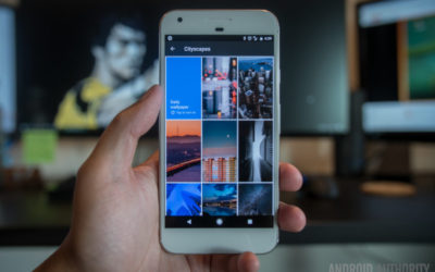 Google Wallpapers adds three new categories and Pixel 2 wallpaper